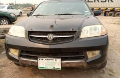Nigeria Used Acura MDX 2003 Model Black