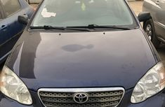 Foreign Used Toyota Corolla 2007 Model Blue Colour for Sale