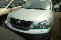 Foreign Used Lexus RX 330 2006 Model Silver for Sale
