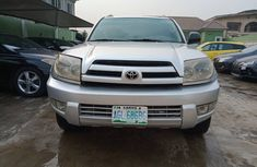 Nigeria Used Toyota 4-Runner 2005 Model Silver for Sale