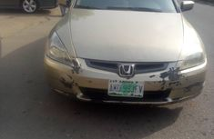 Nigeria  Used Honda Accord 2004 Model Silver for Sale