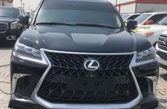 Foreign Used Lexus LX570 2012 Model Black for Sale
