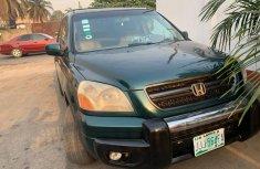 Nigeria Used Honda Pilot 2004 Model Green for Sale