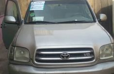 Nigeria Used Toyota Sequioa 2004 Model Silver for Sale