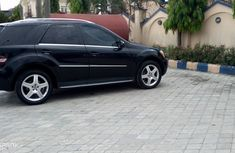 Foreign Used Mercedes Benz ML350 2009 Model Black