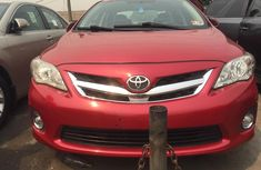 Foreign Used Toyota Corolla 2010 Model Red for Sale