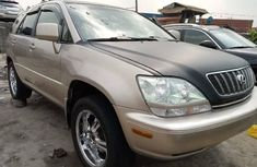 Foreign Used Lexus RX 2001 Model Gold