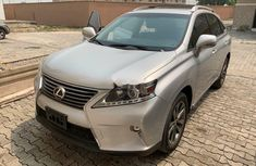 Foreign Used Lexus RX 2014 Model Silver