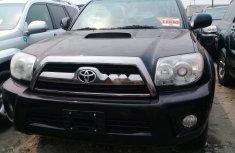 Foreign Used Toyota 4-Runner 2008 Model Black