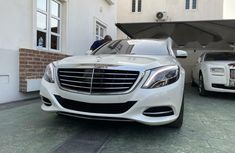 Foreign Used Mercedes-Benz S550 2017 Model White