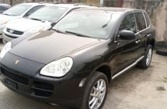 Foreign Used Porsche Cayenne 2015 Model Black