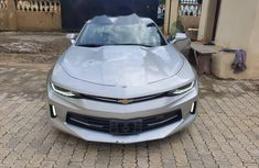 Foreign Used Chevrolet Camaro 2017 Model Silver