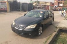 Foreign Used Lexus ES 350 2007 Model Black for Sale