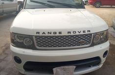 Nigeria Used Range Rover 2008 Model  White for Sale