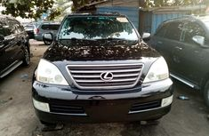 Foreign Used Lexus GX470 2006 Model Black for Sale