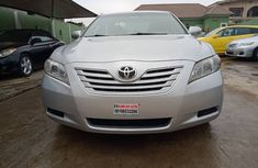 Nigeria Used Toyota Camry 2007 Model Silver for Sale