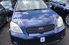 Foreign Used Toyota Matrix 2006 Model Blue for Sale
