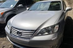 Foreign Used Lexus ES350 2010 Model Silver