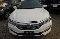 Nigeria Used Honda Accord 2016 Model White