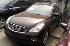 Foreign Used Infiniti EX 2008 Model Black