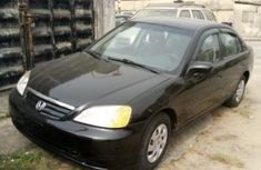 Foreign Used Honda Civic 2001 Model Black