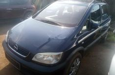 Foreign Used Opel Zafira 2001 Model Blue