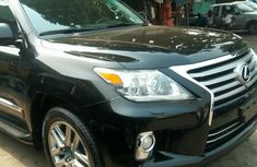 Foreign Used Lexus LX 2012 Model Black