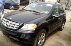 Foreign Used Mercedes-Benz ML 500 2008 Model Black