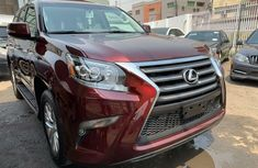 Foreign Used Lexus GX 2014 Model Red