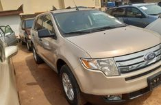 Accident Free Tokunbo 2008 Model Ford Edge Petrol