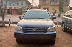 Tokunbo Toyota Highlander 2005 Model Blue
