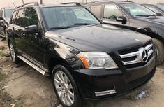Foreign Used Mercedes Benz GLK350 2010 Model Black