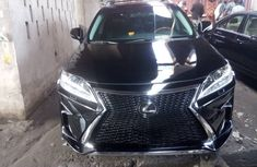 Foreign Used Lexus RX350 2010 Model Black
