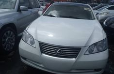 Foreign Used Lexus ES350 2008 Model White for Sale
