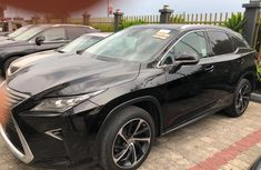 Foreign Used Lexus RX 350 2016 Model Black
