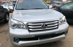 Foreign Used Lexus GX460 2010 Model Silver