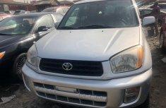 Foreign Used Toyota RAV4 2003 Model 2003 Model Silver