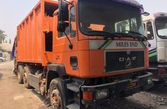 Foreign Used DAF 75 Compactor  1998 Model Orange