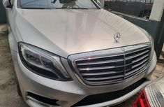 Foreign Used Mercedes-Benz S550 2014 Model Silver