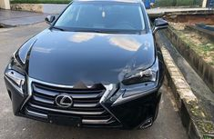 Foreign Used Lexus NX 2017 Model Blue