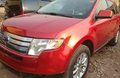 Foreign Used Ford Edge 2007 Model Red