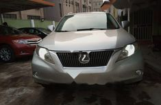 Nigeria Used Lexus RX 2010 Model Silver