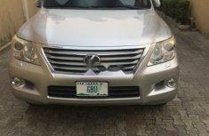Nigerian Used Lexus LX 2009 Model  Grey/Silver
