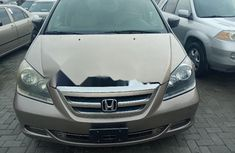 Foreign Used 2006 Gold Honda Odyssey for sale in Lagos
