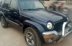 Nigeria Used Jeep Liberty 2004 Model Blue