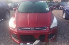 Foreign Used Ford Escape 2013 Model Red
