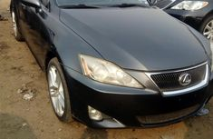 Foreign Used Lexus IS 2006 Model Gray