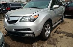 Foreign Used 2010 Acura MDX 2010 Model Silver