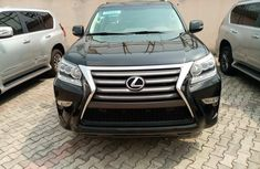 Foreign Used Lexus GX460 2015 Model Black for Sale
