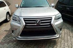 Foreign Used Lexus GX460 2017 Model Silver for Sale